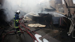 Διδυμότειχο: Φωτιά σε αποθήκη και εκρήξεις