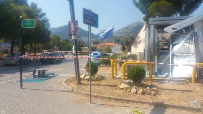Ανατίναξαν ΑΤΜ δίπλα από κλειστό αστυνομικό τμήμα