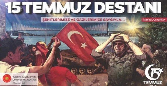 Τουρκία: Διχάζουν οι αφίσες του αποτυχημένου πραξικοπήματος -φωτό