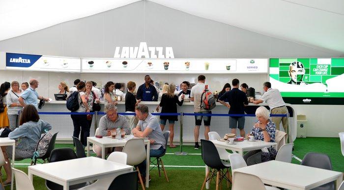 Σερβίς-Ασσος από τη Lavazza με τριετή χορηγία στο Wimbledon