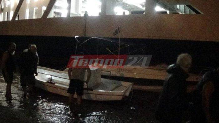 Κόπηκαν οι κάβοι των πλοίων στο Ρίο από τα μποφόρ - εικόνα 2