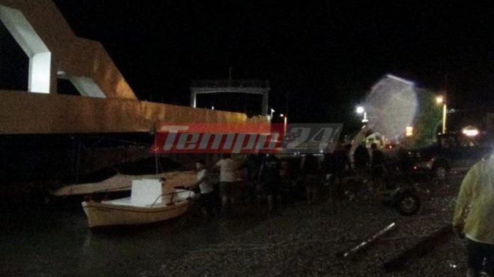 Κόπηκαν οι κάβοι των πλοίων στο Ρίο από τα μποφόρ - εικόνα 4