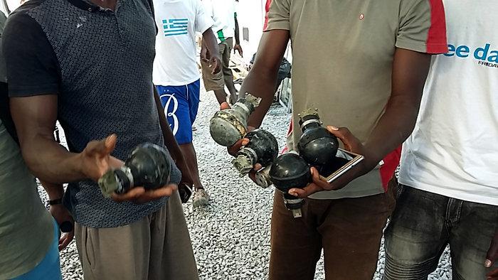 Συλλήψεις και τραυματισμοί στις συγκρούσεις στη Μόρια - εικόνα 4