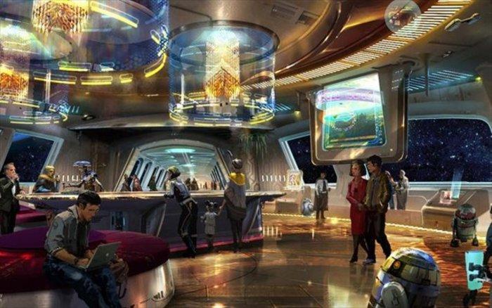 Ξενοδοχείο Star Wars φέρνει η Walt Disney (ΦΩΤΟ)