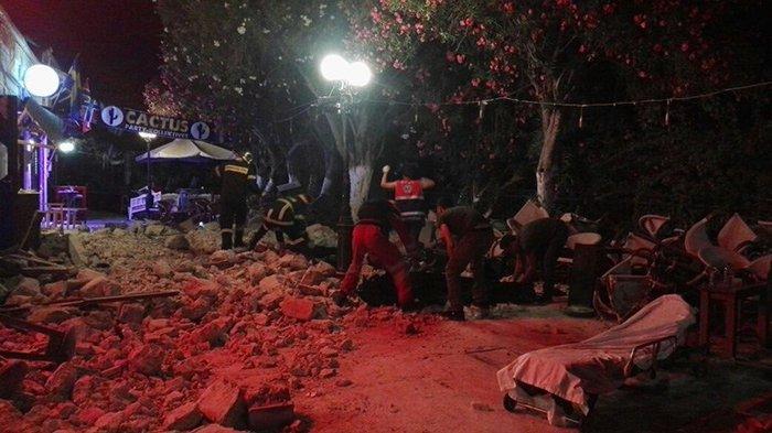 Φονικός σεισμός 6,4 R στην Κω- 2 νεκροί, 13 σοβαρά τραυματίες - εικόνα 19