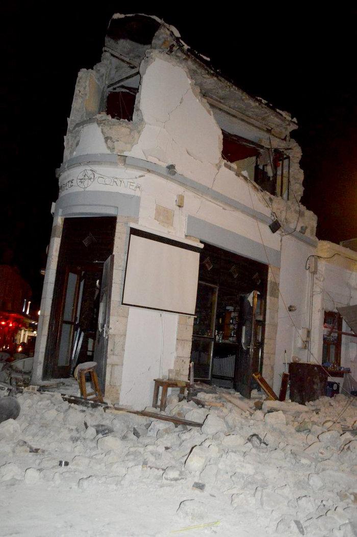 Φονικός σεισμός 6,4 R στην Κω- 2 νεκροί, 13 σοβαρά τραυματίες
