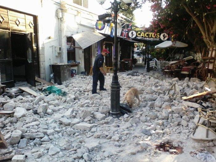 Φονικός σεισμός 6,4 R στην Κω- 2 νεκροί, 13 σοβαρά τραυματίες - εικόνα 4