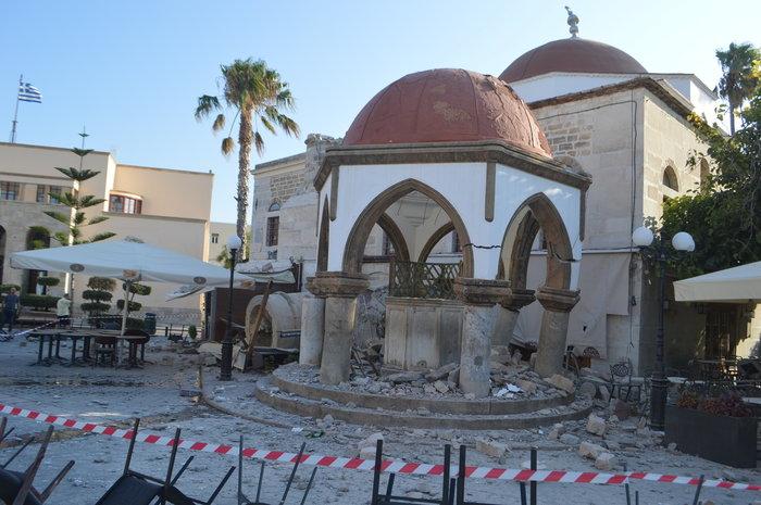Φονικός σεισμός 6,4 R στην Κω- 2 νεκροί, 13 σοβαρά τραυματίες - εικόνα 9