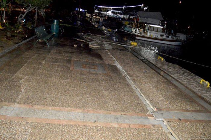 Εκτός λειτουργίας το λιμάνι της Κω - Αποκαλυπτικές εικόνες - εικόνα 6