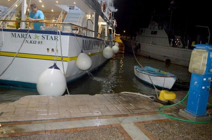 Εκτός λειτουργίας το λιμάνι της Κω - Αποκαλυπτικές εικόνες - εικόνα 7