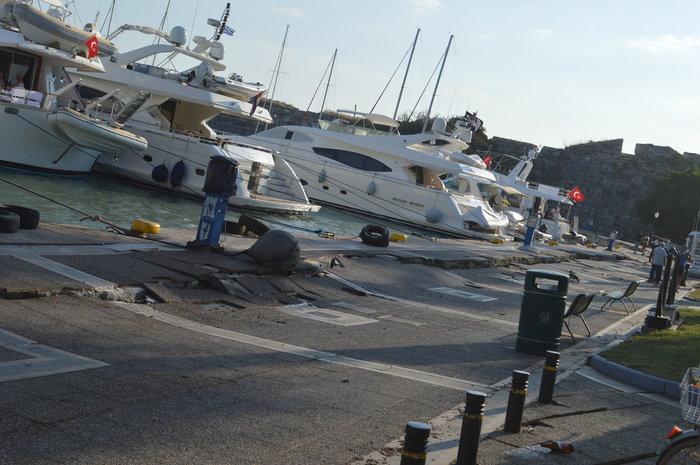 Εκτός λειτουργίας το λιμάνι της Κω - Αποκαλυπτικές εικόνες - εικόνα 3
