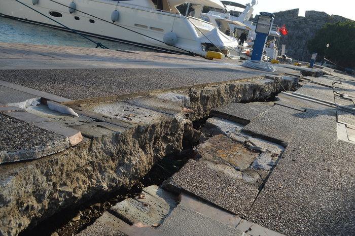 Εκτός λειτουργίας το λιμάνι της Κω - Αποκαλυπτικές εικόνες - εικόνα 4