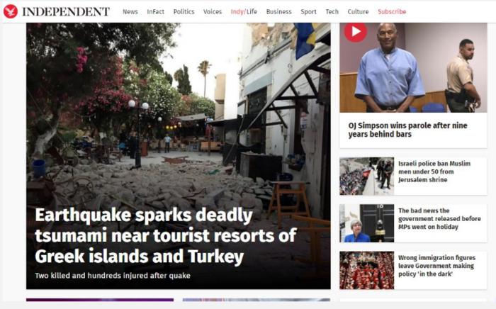 Τον γύρο του κόσμου κάνει ο φονικός σεισμός στην Κω - εικόνα 4