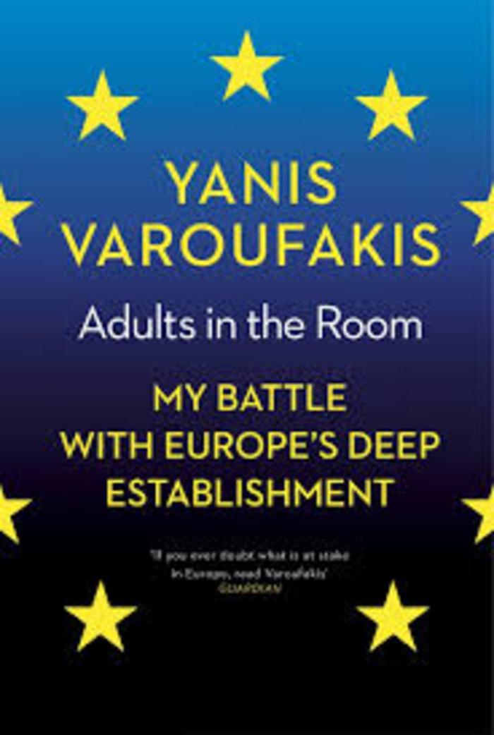 Το εξώφυλλο της αγγλικής έκδοσης του βιβλίου του Γιάνη Βαρουφάκη