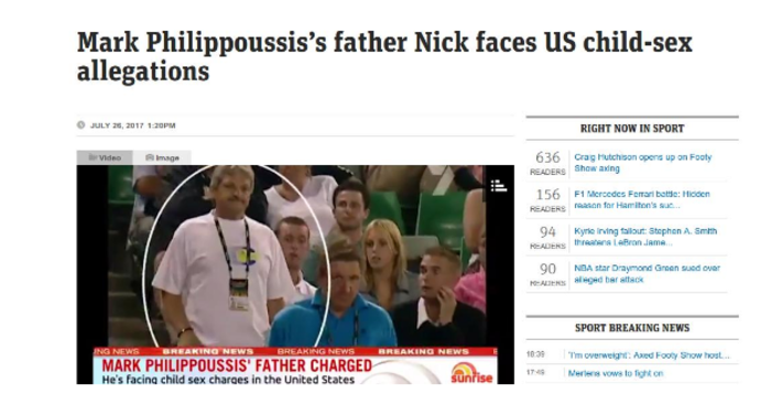 Χειροπέδες στον πατέρα του Φιλιππούση για ασέλγεια ανηλίκων