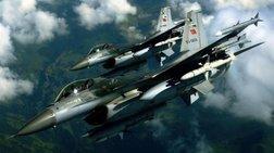 Μπαράζ παραβιάσεων - Τουρκικά F-16 πάνω απο τη Λεβίθα