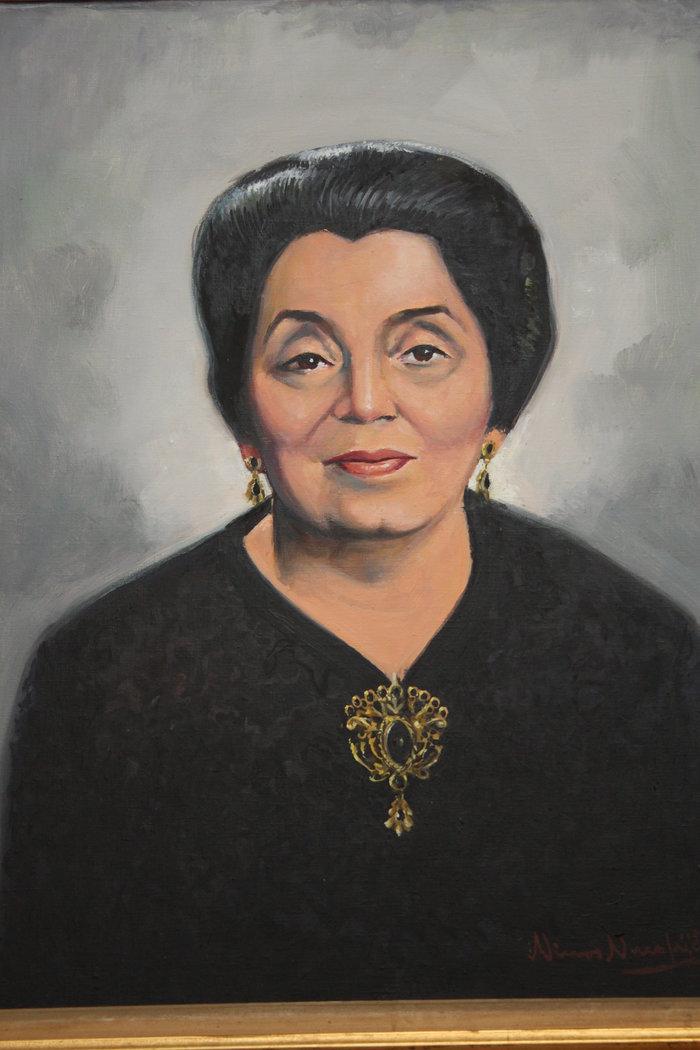 Μαρίκα Κυδωνιέως (Πορτρέτο από το οικογενειακό αρχείο)