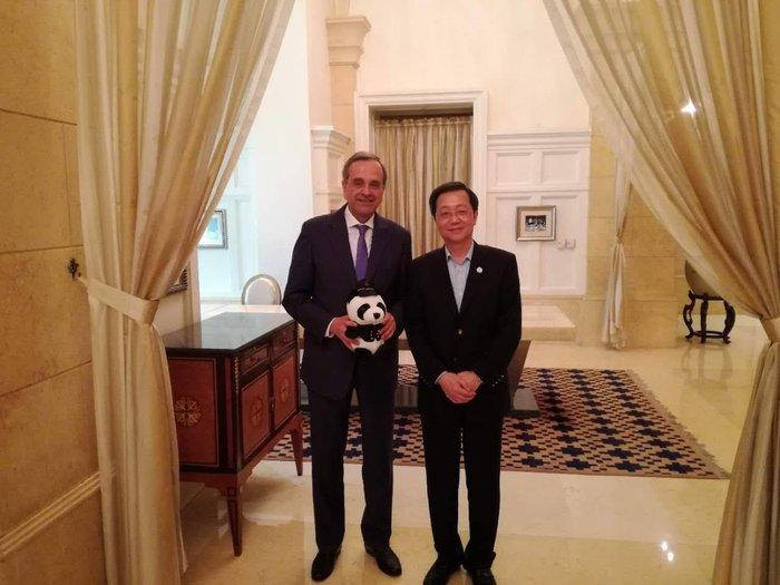 Συνάντηση Σαμαρά με τον πρόεδρο της Cosco στο Πεκίνο - εικόνα 3