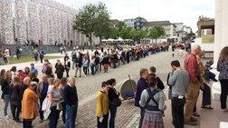 Οι Γερμανοί σε ουρές για να δουν -και- ελληνική τέχνη. Μισό εκ. επισκέπτες!