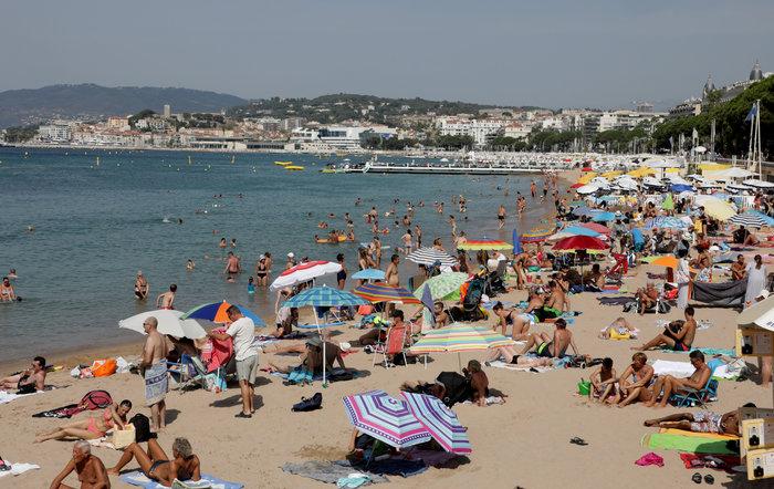 Οι Κάννες λάμπουν το καλοκαίρι μέσα από το φακό του Reuters - εικόνα 4