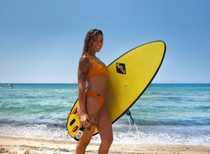 Ευριδίκη Βαλαβάνη: Πήρε τα ...νησιά η σέξι αθλητικογράφος του Survivor