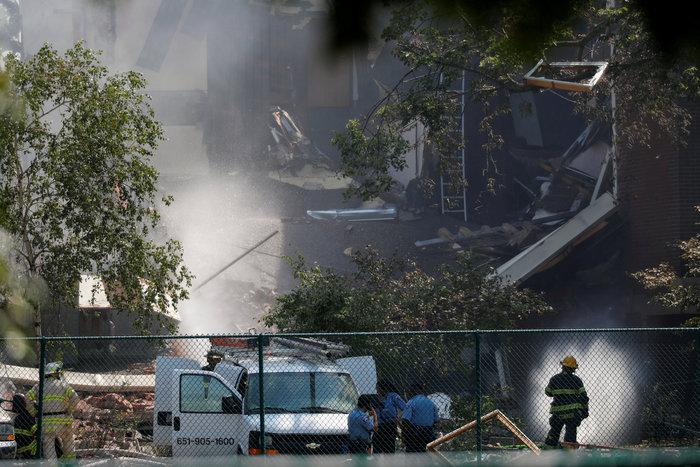 Έκρηξη «ισοπέδωσε» σχολείο στη Μινεάπολη των ΗΠΑ- Δύο νεκροί