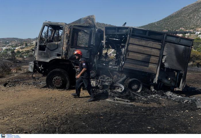 Υπό έλεγχο η φωτιά στη Λέσβο - Κάηκαν σπίτια στο Λαγονήσι - εικόνα 6