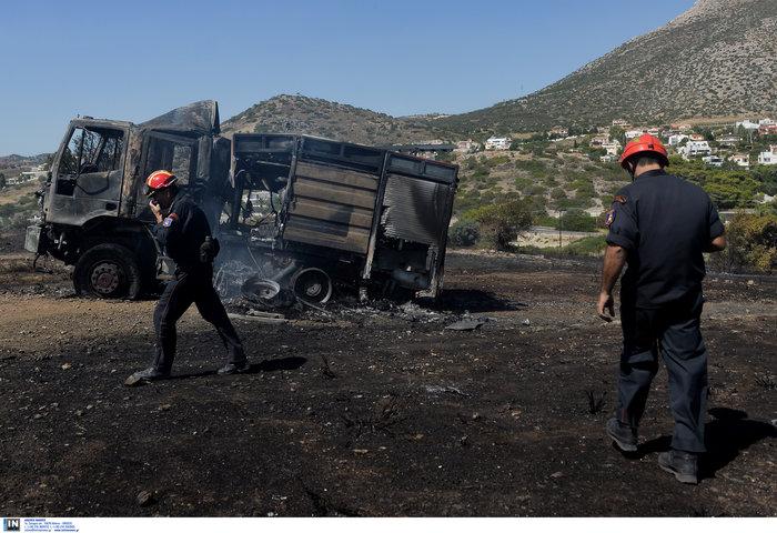 Υπό έλεγχο η φωτιά στη Λέσβο - Κάηκαν σπίτια στο Λαγονήσι - εικόνα 7