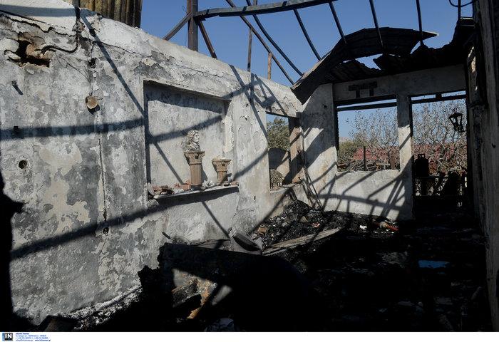 Υπό έλεγχο η φωτιά στη Λέσβο - Κάηκαν σπίτια στο Λαγονήσι - εικόνα 9