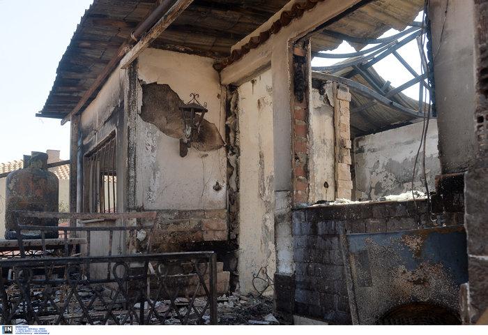 Υπό έλεγχο η φωτιά στη Λέσβο - Κάηκαν σπίτια στο Λαγονήσι - εικόνα 11
