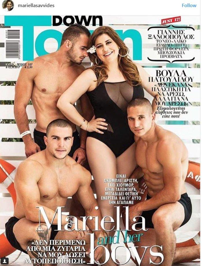 Μαριέλλα Σαββίδου: Με μαγιό σε εξώφυλλο περιοδικού [εικόνα]