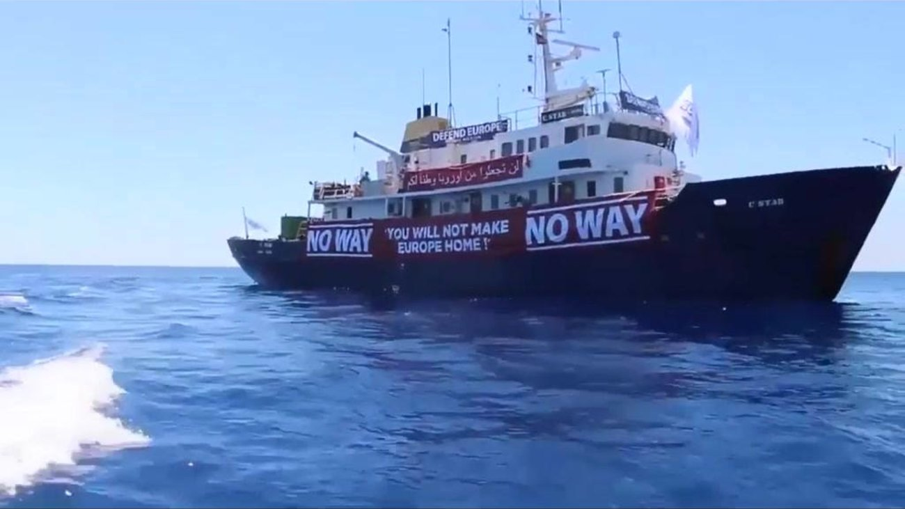 Αποτέλεσμα εικόνας για πλοίο αποτρέπει τους μετανάστες