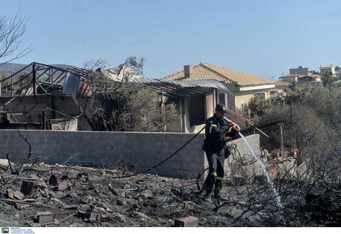 Συνεχείς αναζωπυρώσεις στα Κύθηρα - Μάχη δίνουν οι πυροσβέστες - εικόνα 4