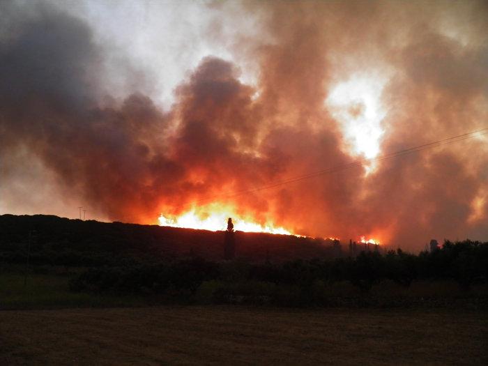 Συνεχείς αναζωπυρώσεις στα Κύθηρα - Μάχη δίνουν οι πυροσβέστες - εικόνα 2