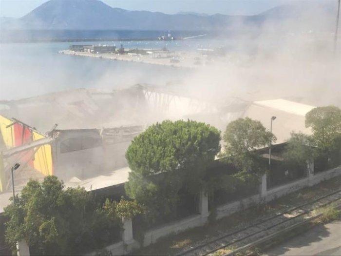 Πάτρα: Κατέρρευσε στέγαστρο στο παλιό λιμάνι – Ένας νεκρός