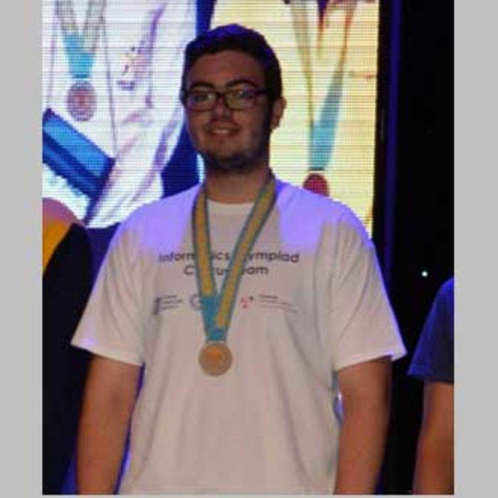 Ο 18χρονος Ελληνοκύπριος που ήρθε δεύτερος στην Ολυμπιάδα Πληροφορικής