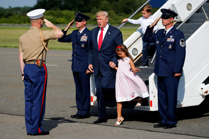 Οι διακοπές του Τραμπ με την Μελάνια και την Ιβάνκα [ΕΙΚΟΝΕΣ] - εικόνα 11