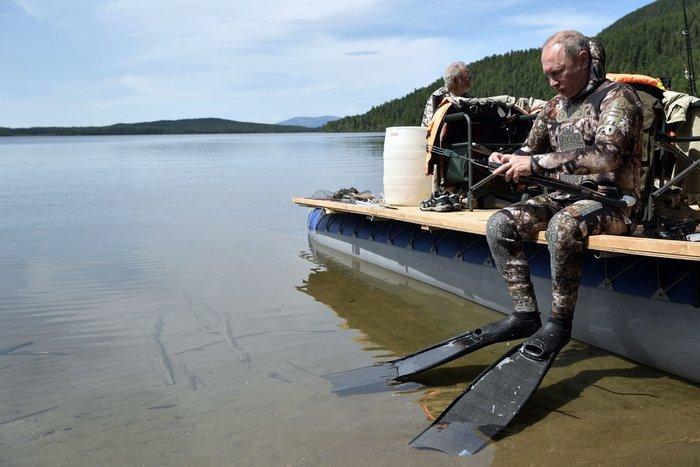 Διακοπές ... Survivor στη Σιβηρία για τον Πούτιν - εικόνα 7