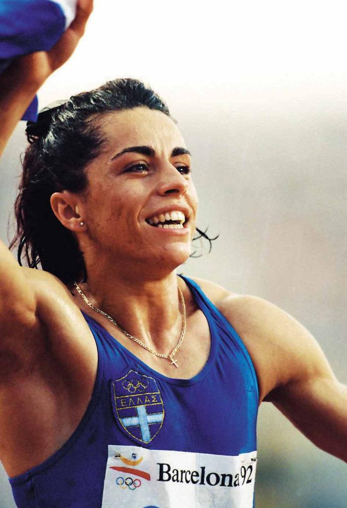Β. Πατουλίδου: 25 χρόνια από το χρυσό μετάλλιο στη Βαρκελώνη - εικόνα 2