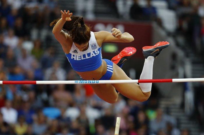 Στεφανίδη: Ο δρόμος προς την κορυφή μιας «χρυσής» αθλήτριας - εικόνα 2