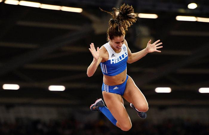 Στεφανίδη: Ο δρόμος προς την κορυφή μιας «χρυσής» αθλήτριας - εικόνα 4