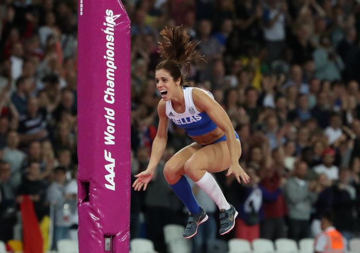Στεφανίδη: Ο δρόμος προς την κορυφή μιας «χρυσής» αθλήτριας - εικόνα 5