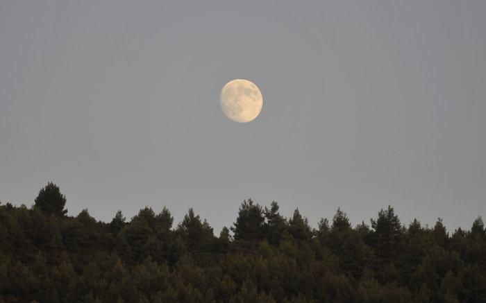 Εικόνες από την ξεχωριστή & εντυπωσιακή πανσέληνο με μερική έκλειψη σελήνης - εικόνα 4