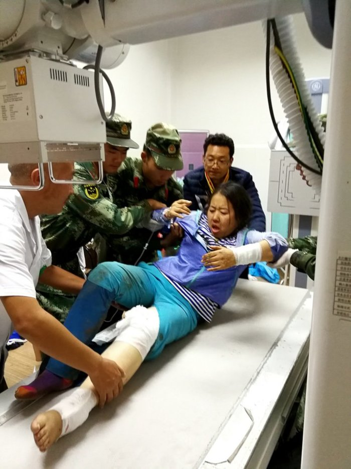 Σεισμός στην Κίνα: 9 νεκροί, 164 τραυματίες μέχρι στιγμής - εικόνα 6
