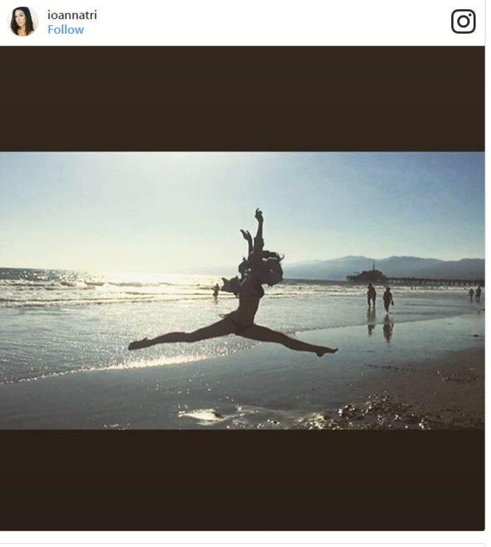 Ι. Τριανταφυλλίδου: Το φωτογραφικό άλμπουμ των διακοπών της στην Καλιφόρνια