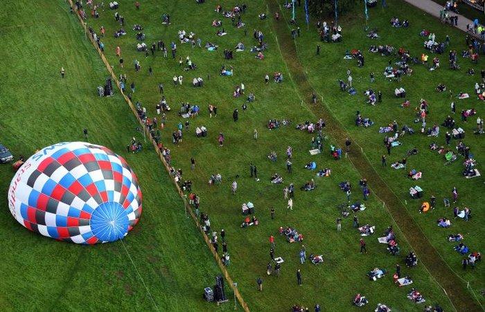 Μπρίστολ: Ξεκίνησε η 38η Παγκόσμια Συνάντηση Αερόστατων
