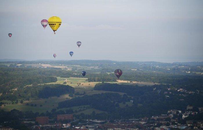 Μπρίστολ: Ξεκίνησε η 38η Παγκόσμια Συνάντηση Αερόστατων - εικόνα 3