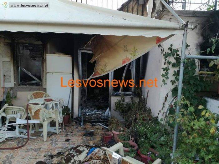 Σοκ στη Λέσβο: Δύο αδέλφια νεκρά από πυρκαγιά σε διαμέρισμα