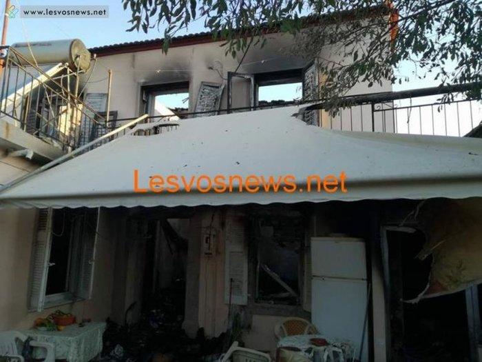 Σοκ στη Λέσβο: Δύο αδέλφια νεκρά από πυρκαγιά σε διαμέρισμα - εικόνα 2