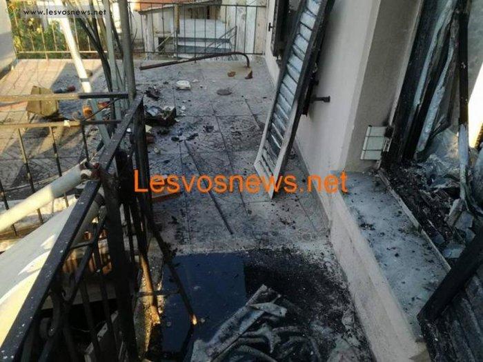 Σοκ στη Λέσβο: Δύο αδέλφια νεκρά από πυρκαγιά σε διαμέρισμα - εικόνα 3